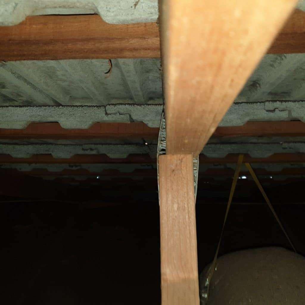 Roof truss failure